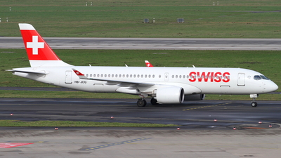 A picture of HBJCQ - Airbus A220300 - Swiss - © Robin Frosch