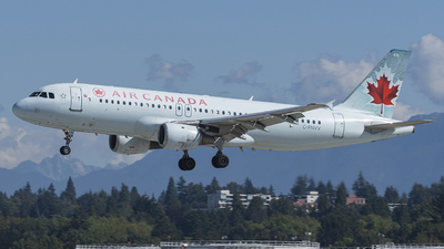 A picture of CFNVV - Airbus A320211 - Air Canada - © YANBO