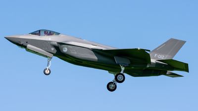 F-012 - Lockheed Martin F-35A Lightning II - Netherlands - Royal Air Force
