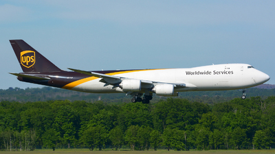 A picture of N617UP - Boeing 7478F - UPS - © Jeremy Denton