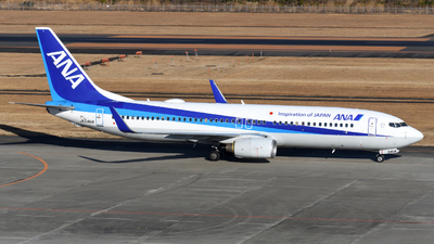 A picture of JA54AN - Boeing 737881 - All Nippon Airways - © HIroki Manabe