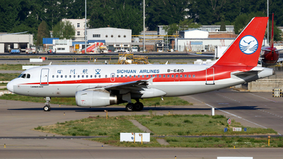 B-6410 - Airbus A319-133 - Sichuan Airlines