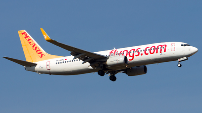 A picture of TCCPL - Boeing 73782R - Pegasus Airlines - © Chr Pe
