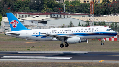 A picture of B6977 - Airbus A320232 - China Southern Airlines - © Wanping Chen