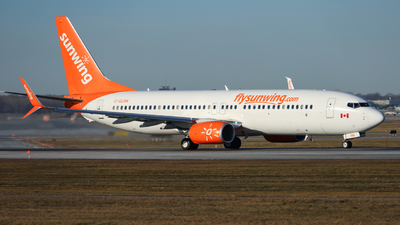 A picture of CGLRN - Boeing 7378SH - Sunwing Airlines - © Salty1809