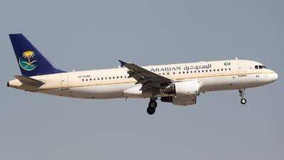A picture of HZAS44 - Airbus A320214 - Saudia - © Maik Voigt