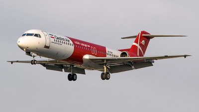 A picture of EPFQF - Fokker 100 - Qeshm Airlines - © Mahyar Malakooti