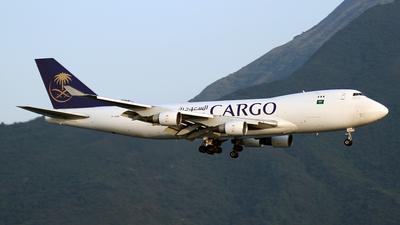 TF-AMB - Boeing 747-412F(SCD) - Saudi Arabian Airlines Cargo (Air Atlanta Icelandic)