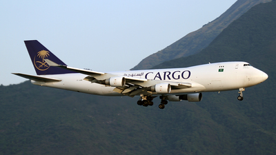 A picture of TFAMB - Boeing 747412F - Saudia - © Mohit Purswani - AHKGAP