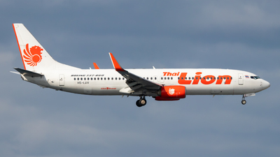 HS-LUV - Boeing 737-8GP - Thai Lion Air
