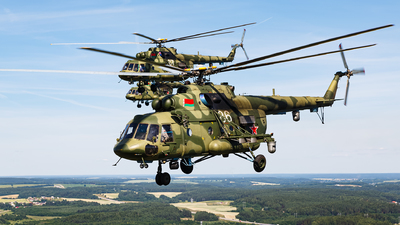 86 - Mil Mi-8MTV-5 Hip - Belarus - Air Force