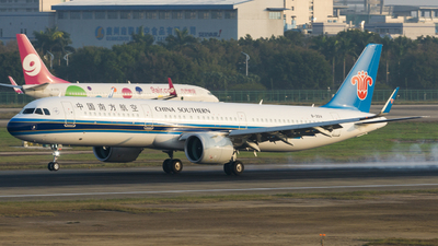 B-301V - Airbus A321-271N - China Southern Airlines
