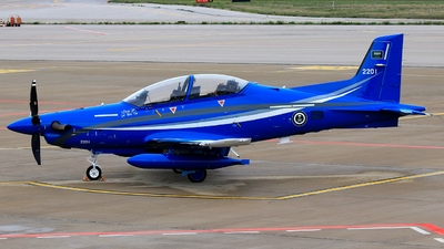 2201 - Pilatus PC-21 - Saudi Arabia - Air Force