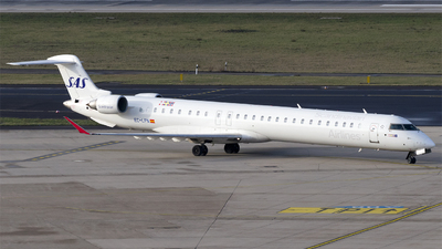 EC-LPN - Bombardier CRJ-1000 - Scandinavian Airlines (SAS) (Air Nostrum)