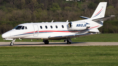 A picture of N810JB - Cessna 560XL Citation Excel - Delta Private Jets - © Jake Simpson