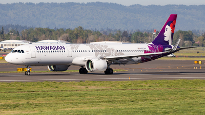 A picture of N227HA - Airbus A321271N - Hawaiian Airlines - © John Marzo