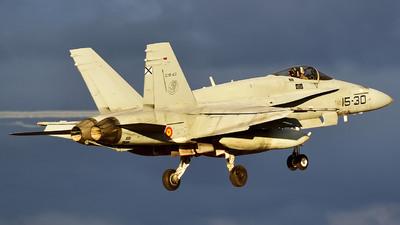 C.15-43 - McDonnell Douglas EF-18A+ Hornet - Spain - Air Force