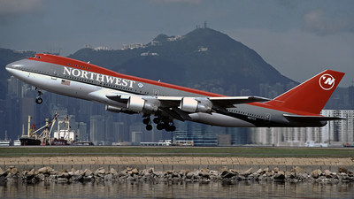 N627US - Boeing 747-251B - Northwest Airlines