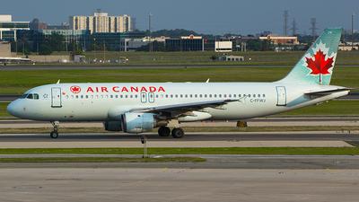 C-FFWJ - Airbus A320-211 - Air Canada