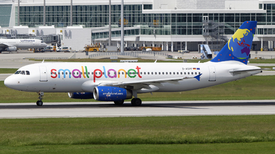 D-ASPF - Airbus A320-232 - Small Planet Airlines Germany