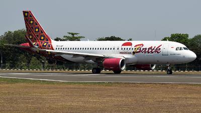 PK-LAF - Airbus A320-214 - Batik Air