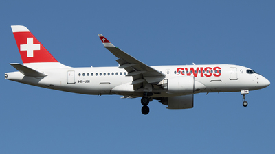 A picture of HBJBI - Airbus A220100 - Swiss - © Stefan Bayer