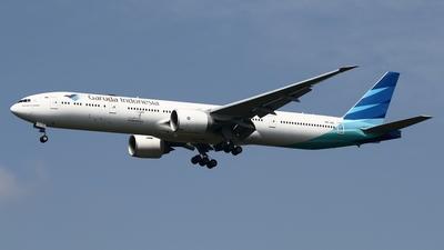 PK-GIC - Boeing 777-3U3ER - Garuda Indonesia