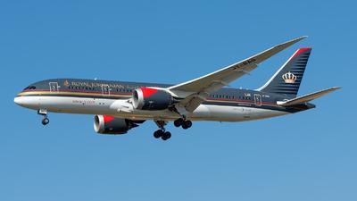 JY-BAG - Boeing 787-8 Dreamliner - Royal Jordanian