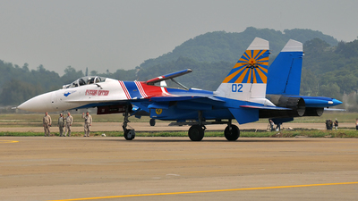 02 - Sukhoi Su-27P Flanker - Russia - Air Force