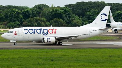 PK-DJS - Boeing 737-301(SF) - Cardig Air