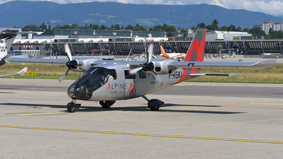 F-HSKI - Vulcanair P-68 Observer 2 - Alpine Airlines