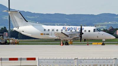 A picture of ECHHN - Embraer EMB120RT Brasilia - Flightline - © Karl Dittlbacher