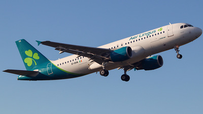 A picture of EIDVN - Airbus A320214 - Aer Lingus - © Nicky Scott