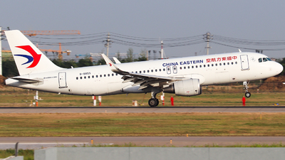 A picture of B8855 - Airbus A320214 - China Eastern Airlines - © AGUIJUN-Lei