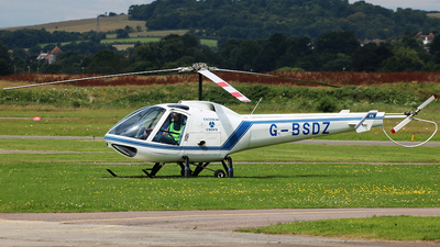 G-BSDZ - Enstrom 280FX Shark - Private