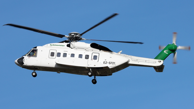 EZ-S721 - Sikorsky S-92A Helibus - Turkmenistan - Government