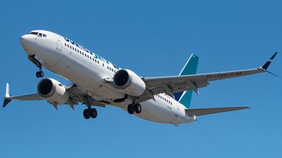 C-GCAM - Boeing 737-8 MAX - WestJet Airlines