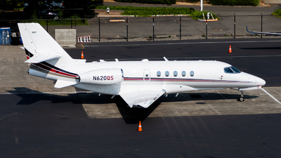 A picture of N620QS - Cessna 680A Citation Latitude - NetJets - © HAOFENG YU