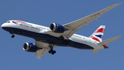 A picture of GZBJM - Boeing 7878 Dreamliner - British Airways - © ikeharel