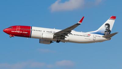 EI-FVX - Boeing 737-8JP - Norwegian