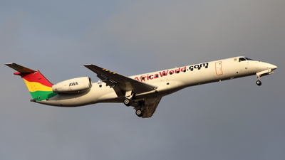 9G-AFJ - Embraer ERJ-145LI - Africa World Airlines