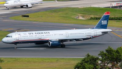 N534UW - Airbus A321-231 - US Airways