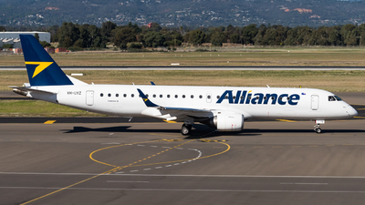 VH-UYZ - Embraer 190-100IGW - Alliance Airlines