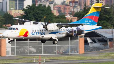 A picture of HK5130 - ATR 42600 - Satena - © Alex Rivera