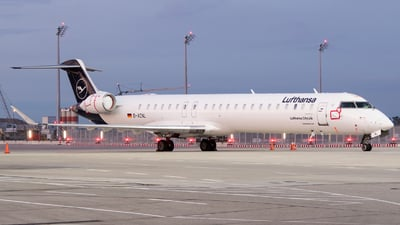 A picture of DACNL - Mitsubishi CRJ900LR - Lufthansa - © Moritz Klöckner