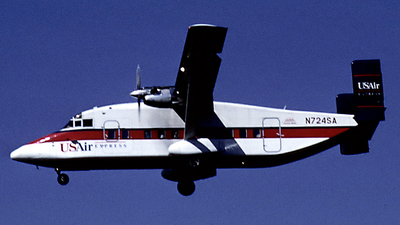 N724SA - Short 330-200 - USAir Express (Suburban Airlines)