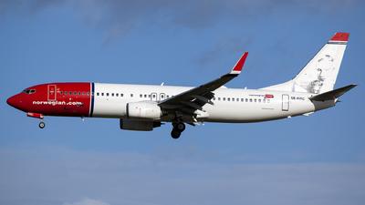 A picture of SERRC - Boeing 7378JP - Norwegian - © Globalpics