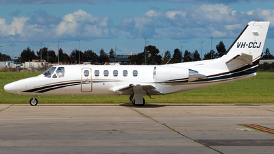 VH-CCJ - Cessna 501 Citation SP - Private