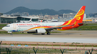 A picture of B7616 - Boeing 73784P - Hainan Airlines - © Charlie