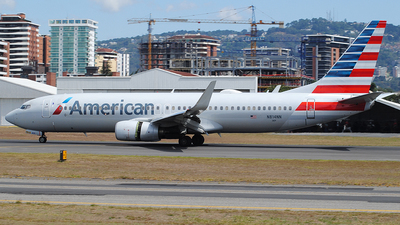 A picture of N814NN - Boeing 737823 - American Airlines - © Brian Boche